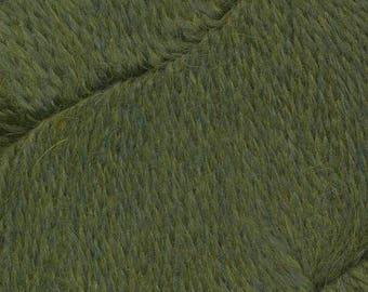 Shamrock Green Herriot Fine Yarn by Jupiter Moon Farm 461 yards Super Fine Alpaca Nylon Sock Yarn Color 2027