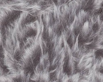 Furreal Fur Yarn Pine Marten by Knitting Fever 100% Polyester Super Bulky Weight 71 Yards #14