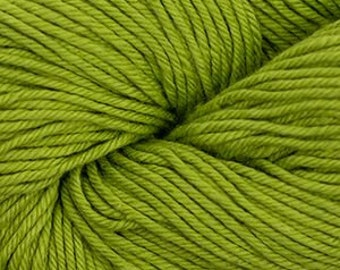 Olive Green Cascade Nifty Cotton Worsted Weight 100% Cotton 185 yards