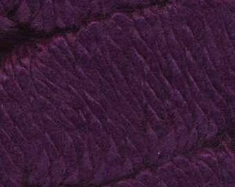 Deep Purple Ella Rae Chunky Alpaca Yarn 120 yards 100% SuperWash Alpaca Acrylic Color 515