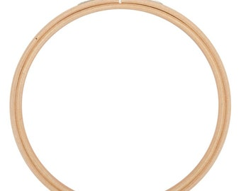 6 Inch Wood Embroidery Hoop Sewing Crafting Supply