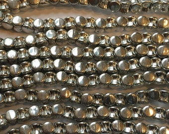 Pellet Beads Crystal Full Labrador Czech Pressed Glass Pellets 4x6mm 30 beads PLT46-00030-27000