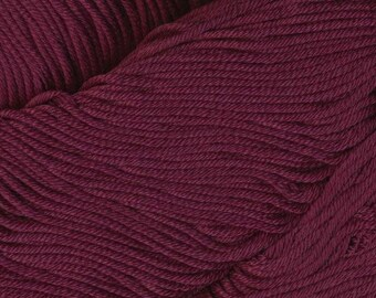 Egyptian Cotton Phoenix DK Ella Rae Yarn DK Weight 273 yards 100% Egyptian Cotton Yarn #1051 Merlot