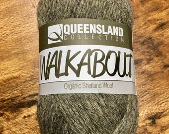 Pebble Walkabout Organic Shetland Wool by Queensland Collection Sport Weight Certified Organic 157 yards Color 10