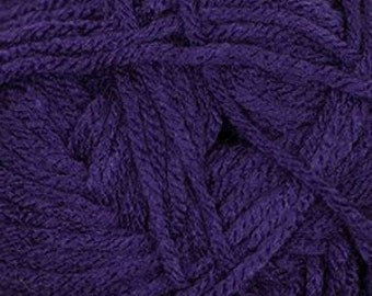 Dark Lavender Cascade Anthem Yarn 186 yards 100% Acrylic Color 34