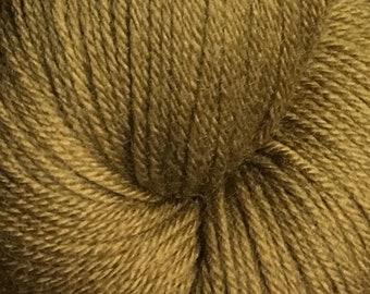 Bronze Cascade Heritage Yarn 437 yards Super Fine Wool Nylon Sock Yarn Color 5724