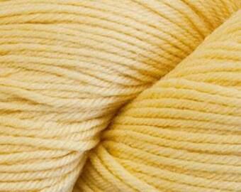 Lemon Yellow Cascade Heritage Yarn 437 yards Super Fine Wool Nylon Sock Yarn Color 5644
