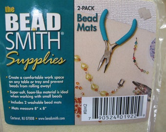 "Set of 2 Bead Mats for Beading 8"" x 8"""
