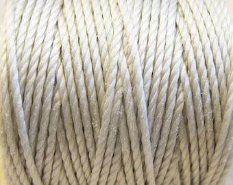 S-Lon Tex 400 Cream Multi Filament Cord 35 yard Spool