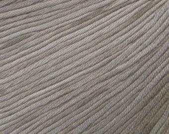Seashell Ella Rae Sun Kissed yarn DK Weight 262 yards Natural Brown Beige Shades 100% Cotton Yarn Color 12
