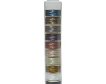 Nymo Beading Thread 64 Yards Per Bobbin Assorted Color Mix 1 Size D  10 bobbins