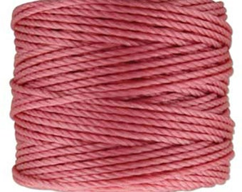 S-Lon Tex 400 Pink Multi Filament Cord 35 yard Spool
