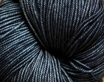 Midnight Blue Lace Merino Hand Painted Ella Rae Yarn Sport Sock Weight 100% Wool 460 yards Color 56