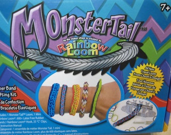 Clearance Monster Tail by Rainbow Loom Complete Kit Plus Extras Last Ones