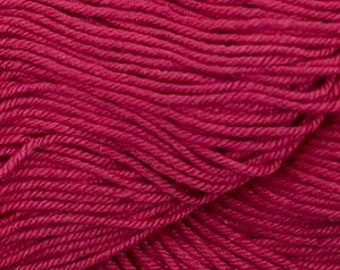 Red Cascade Nifty Cotton Worsted Weight 100% Cotton 185 yards