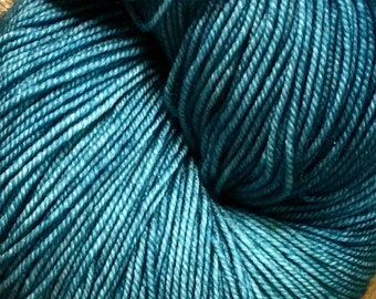 Seaweed Lace Merino Hand Painted Ella Rae Yarn Sport Sock Weight 100% Wool 460 yards Color 78