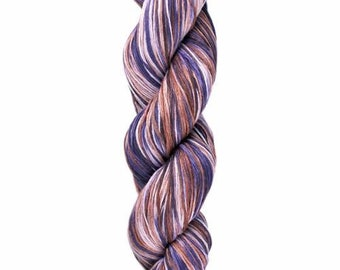 Ollagua Handpainted Pure Linen by Araucania Amatista Purple Amethyst Shades DK Weight Yarn 280 yards 100% Linen color 08