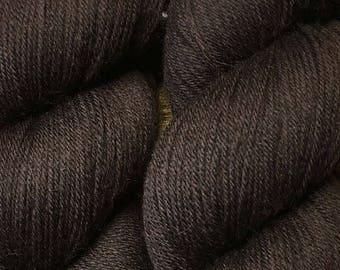 Bark Brown Cascade Heritage Yarn 437 yards Super Fine Wool Nylon Sock Yarn Color 5609