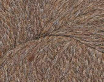 Sycamore Brown Herriot Fine Yarn by Jupiter Moon Farm 461 yards Super Fine Alpaca Nylon Sock Yarn Color 2004