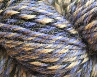 Brisbane Blue Lagoon 100% Australian Superwash Wool Yarn by Queensland Collection Medium Weight 100 grams color 12