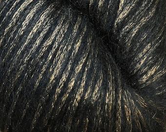 Tigers Eye Luminosa 240 yards Worsted Alpaca Viscose Wool Cascade Yarn Color 02