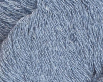 Dungarees Recycled Blue Jean Yarn from Queensland DK Weight 219 yards 100% Combed Cotton Skysurf 10