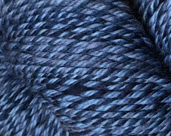 Blue Cascade 220 Superwash Wave Yarn 220 yards 100% SuperWash Wool color 106