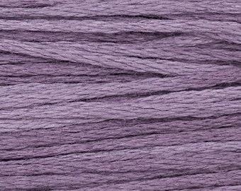 Weeks Dye Works Purple Haze Embroidery Floss 6 Strand 100% Egyptian Cotton for Embroidery Cross Stitch Needlepoint Sewing Beading 1313