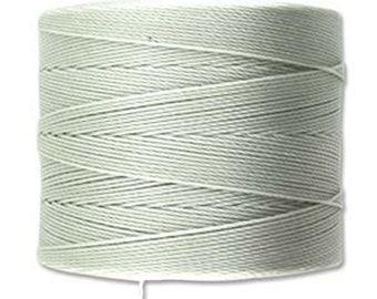 S-Lon Micro Tex 70 Light Grey Multi Filament Superlon Micro Cord 287 yard Spool .12mm thread