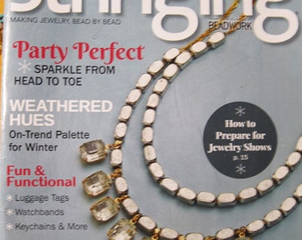 Weathered Hues Stringing Magazine Party Perfect Wire Wrapping 75 Stunning DIY Projects Winter 2016 issue