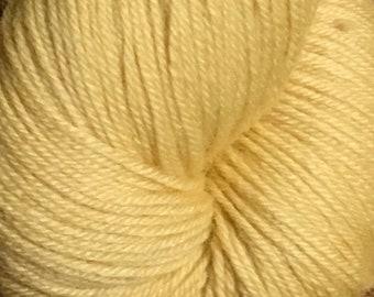 Butter Cascade Heritage Yarn 437 yards Super Fine Wool Nylon Sock Yarn Color 5611