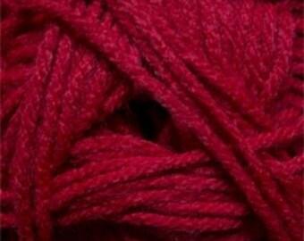 Red Cascade Anthem Yarn 186 yards 100% Acrylic Color 03
