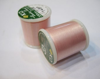 Baby Pink KO Nylon Japanese Beading Thread 55 yards