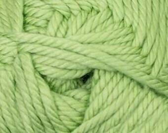 Cherub Super Bulky Incredibly Soft Key Lime Cascade Yarn 131 yards Acrylic Nylon Blend Color 11