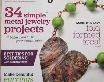 25% OFF Easy Metal Jewelry Magazine 34 Simple Metal Jewelry Projects 2014 Issue