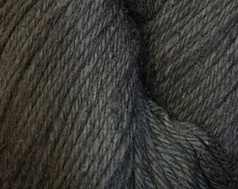 Clearance Black Cascade Hampton Pima Cotton and Linen DK Weight Yarn 273 yards color 05