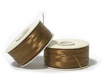 Nymo Beading Thread Golden Size D 64 yards 1 Spool