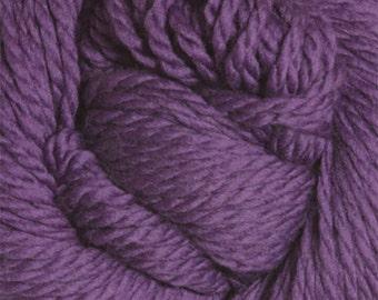 Grape Compote Purple Cascade 128 Bulky Superwash Yarn 128 yards 100% SuperWash Wool color 232
