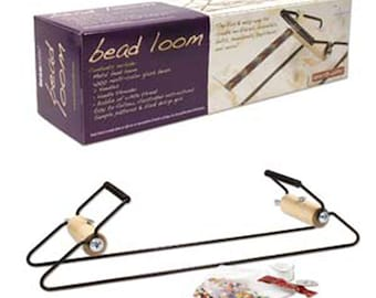 Bead Loom Metal Lom with Beads and Supplies Easy to Learn Instructions Included