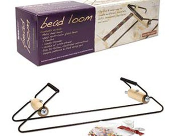 Bead Loom Metal Loom with Beads and Supplies Easy to Learn Instructions Included