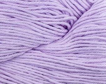 Soft Lilac Cascade Nifty Cotton Worsted Weight 100% Cotton 185 yards