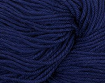 Dark Sapphire Blue Cascade Nifty Cotton Worsted Weight 100% Cotton 185 yards