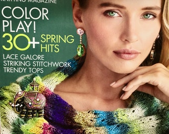 Noro Knitting Magazine Spring Summer 2020 Color Play 30 Plus Spring Summer Lace Accessories Stitchwork Issue 16