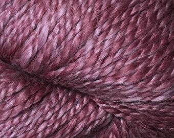 Araucania Lujoso Baby Alpaca Fine Merino Wool Mulberry Silk Worsted Weight Yarn Color 09 Orchid 164 yards