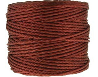 S-Lon Tex 400 Sienna Multi Filament Cord 35 yard Spool