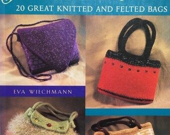 25% OFF Pursenalities - 20 Great Knitted and Felted Bags by Eva Wiechmann