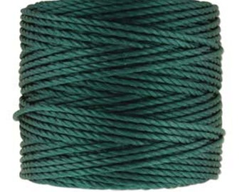 S-Lon Tex 400 Green Blue Multi Filament Cord 35 yard Spool