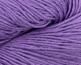 Grape Cascade Nifty Cotton Worsted Weight 100% Cotton 185 yards
