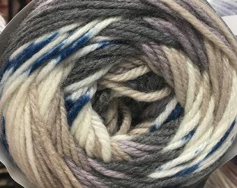 NEW Fair Isle Super Wash Wool Nylon Yarn Cake 246 yards Worsted Weight Timberland Color 15