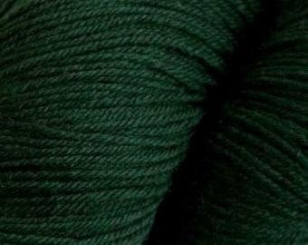 Pine Green Cascade Heritage Yarn 437 yards Super Fine Wool Nylon Sock Yarn Color 5608